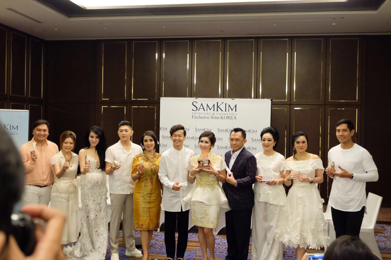 Press Conference SAMKIM New Product