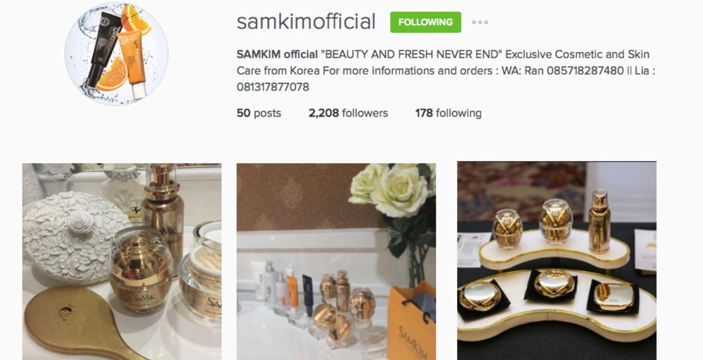 SAMKIMOFF instagram