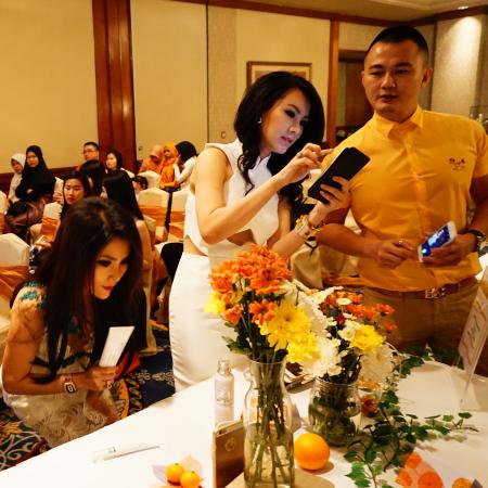 Ms Uci, Ms Amelia Salim & Mr Herman Wang