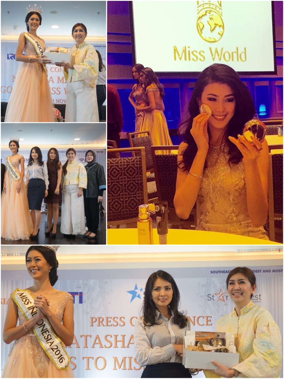 SAMKIM - Natasha Mannuela Miss World 2016