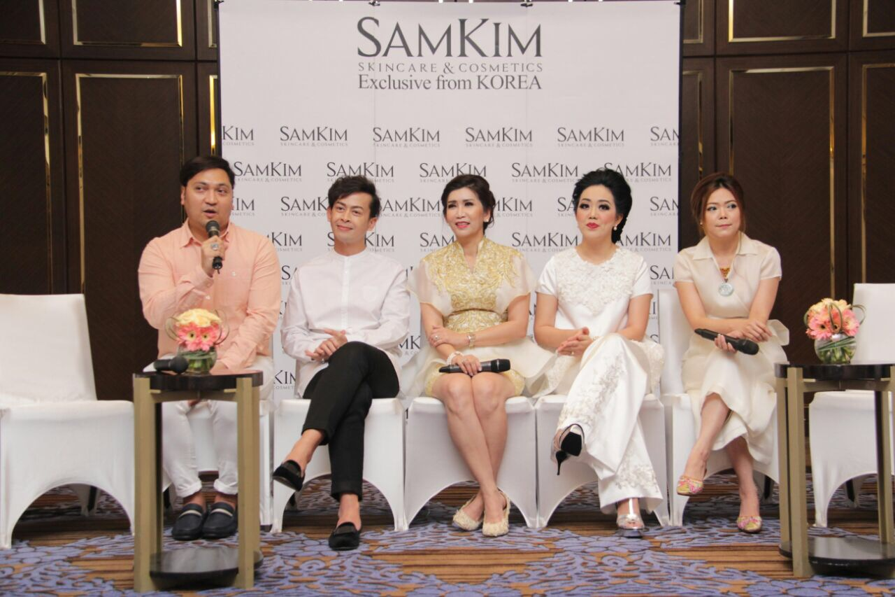 Press Conference SAMKIM Cosmetic